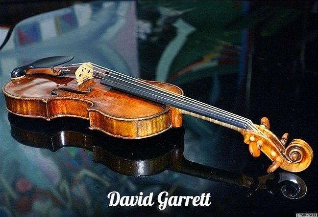 Опять скрипка - Дэвид Гарретт