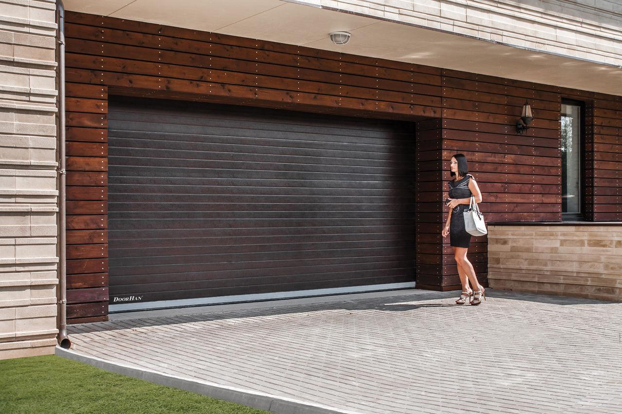 Преимущества секционных гаражных ворот «Дорхан»