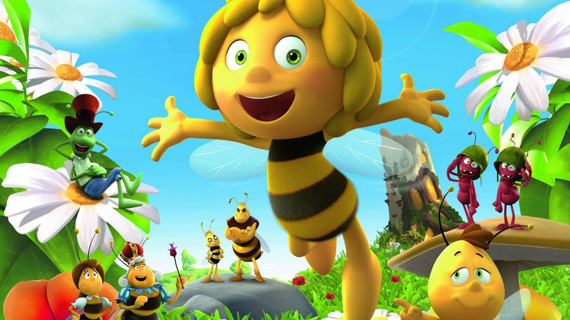 Пчелки в мае, но не Майя
